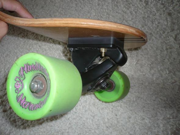 So wie hier. - (Skateboard, Longboard, skaten)