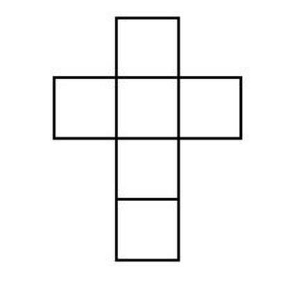 Würfelnetz - (Schule, Mathe, Mathematik)