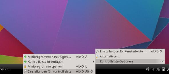 KDE_Kontrollleisten_Einstellungen_1 - (Linux, KDE)