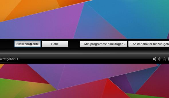 KDE_Kontrollleisten_Einstellungen_2 - (Linux, KDE)