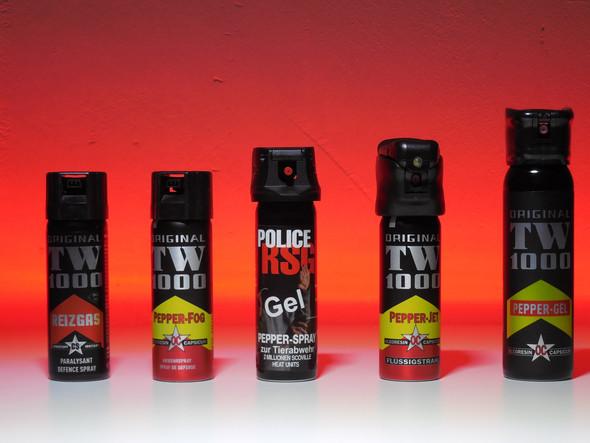 CS-Gasspray zur Personenabwehr - (Freizeit, Recht, Verteidigung)
