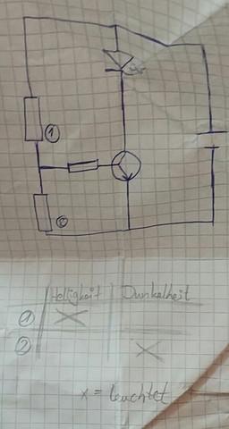 Das ist der schaltkreis - (Technik, Physik, LED)