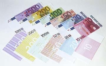 125 % Euro-Reproduktionen (einseitig) - (Post, Geldschein, Postversand)