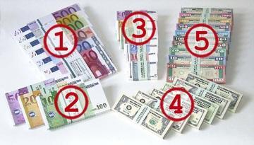 Spielgeld von BUNTEBANK - (Post, Geldschein, Postversand)