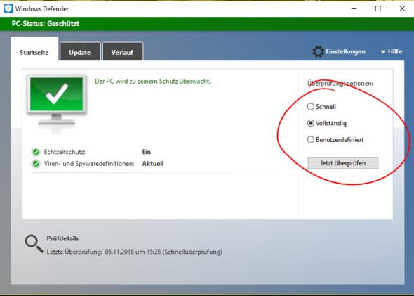 So scannst du deinen PC - (Computer, Windows)