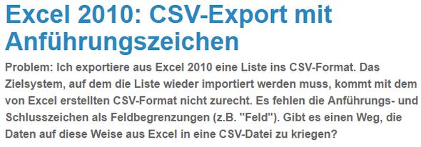Link Tipp  - (Informatik, Datei, Excel)