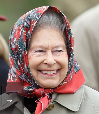 Queen mit Kopftuch - (Leben, Geschichte, Politik)