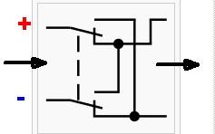 Kreuzschalter als Polwender - (Elektrotechnik, Schaltung, Schalter)