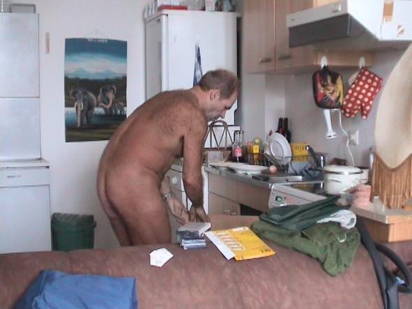 Ich muss immer nackt sein