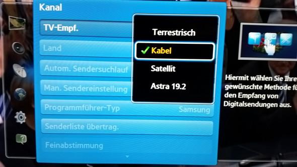 - (Samsung, TV, Fernsehen)