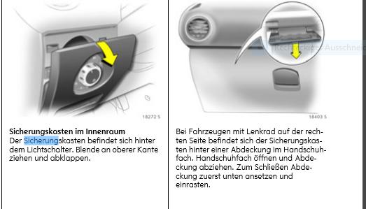 Sicherungskasten Corsa D Innenraum öffnen? (Auto, Sicherung)