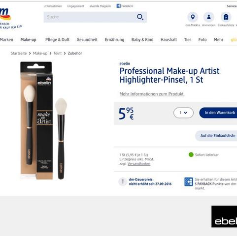 Ebelin (DM) - (Beauty, Make-Up, Pinsel)