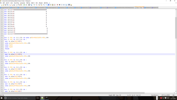 - (programmieren, Batch)