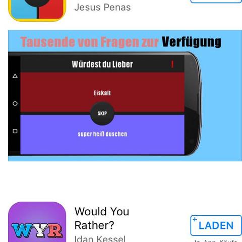 würdest du eher app