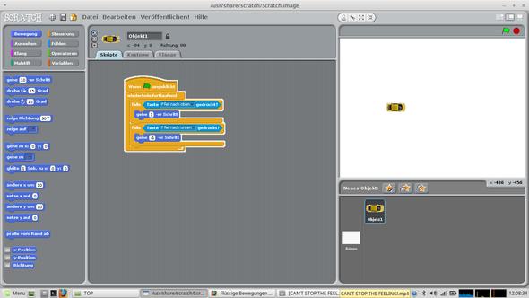 - (programmieren, Figur, Bewegung)