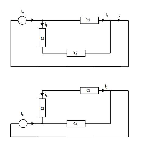 Ersatzschaltbilder 2 - (Elektrotechnik, Überlagerung superpositionsverfahren)
