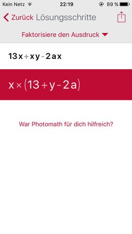 - (Mathe, Mathematik)