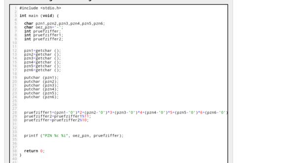 Cprogramm komplett - (Informatik, c-programm)