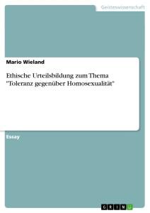Homosexualität - (Homosexualität, Heterosexualität)