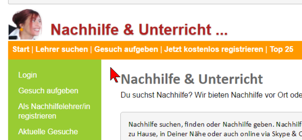 Nachhilfe-Vermittlung.com - (Schule, Mathe, Nachhilfe)