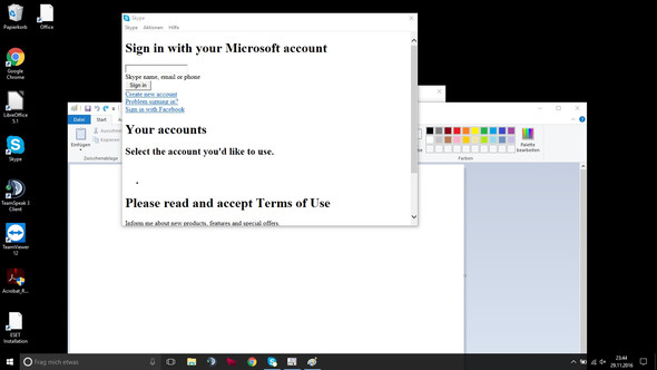 Desktop-Skype - (Software, Skype, Windows 10)