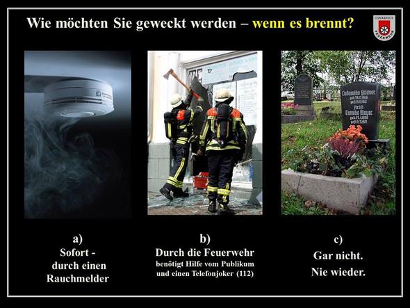 - (Zimmer, Rauchmelder, Brandverhütung )