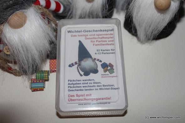 - (Spiele, wichteln, Weihnachtsfeier)