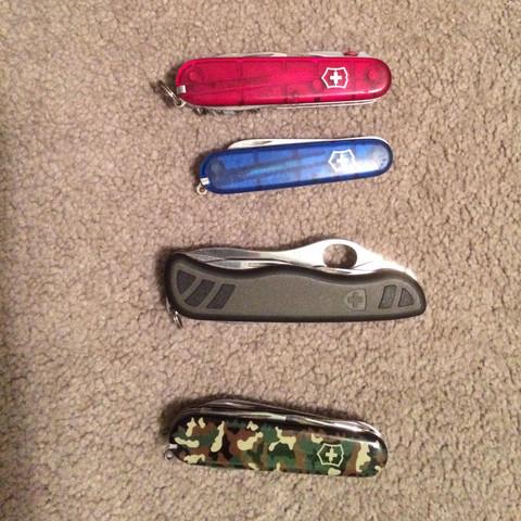 Verschiedene Designs  - (Messer, Schnitzen)