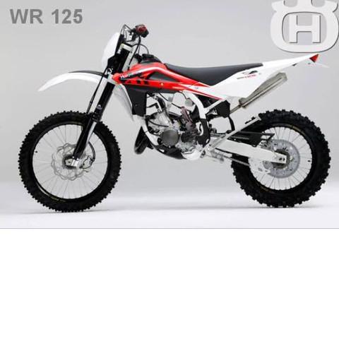 Husqvarna wr 125 - (Motorrad, A1, 125-ccm)