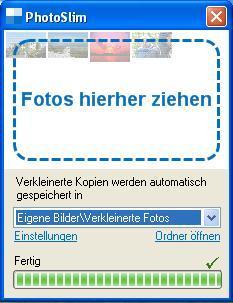 PhotoSlim - (Bildbearbeitung, irfanview, Bildverkleinerung)