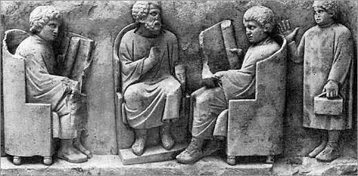 bilder zum thema schule im antiken griechenland antikes griechenland. Black Bedroom Furniture Sets. Home Design Ideas