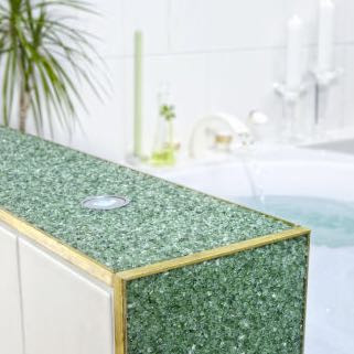 Steinteppich In Dusche Haus Bad