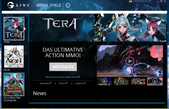 Tera Startet Nicht Wenn Ich Auf Spielen Klicke
