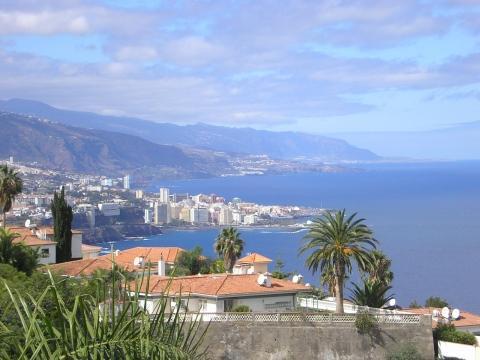 Panorama-Ausblick - (Urlaub, Spanien, Kanaren)