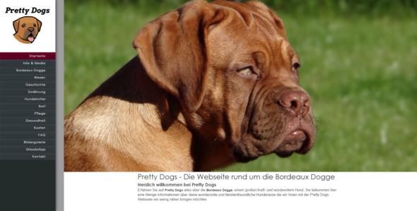 - (Hund, Unterhalt, Dogge)