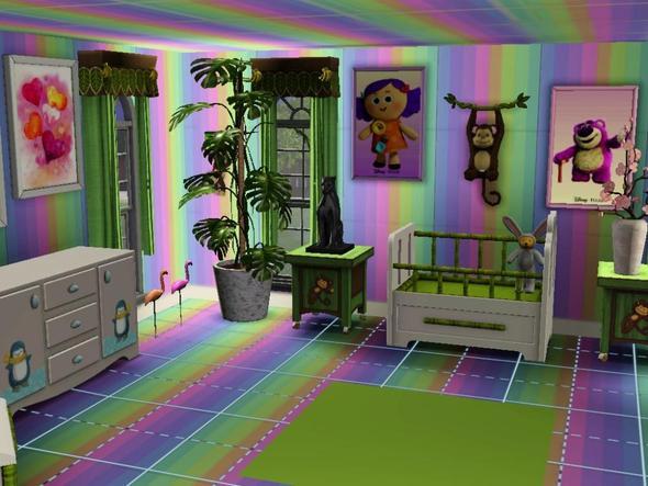 wie kann ich bei sims 3 die farbe f r tapeten etc ver ndern computerspiele pc. Black Bedroom Furniture Sets. Home Design Ideas