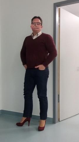 neulich im Büro... - (Männer, Schuhe, High Heels)