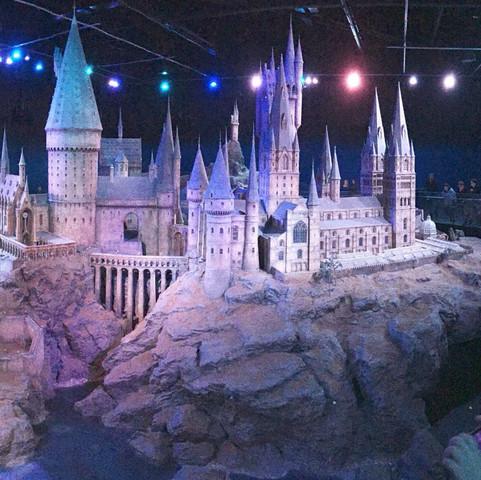 Da, is echt beeindruckend gewesen! - (Film, Harry Potter, Hogwarts)