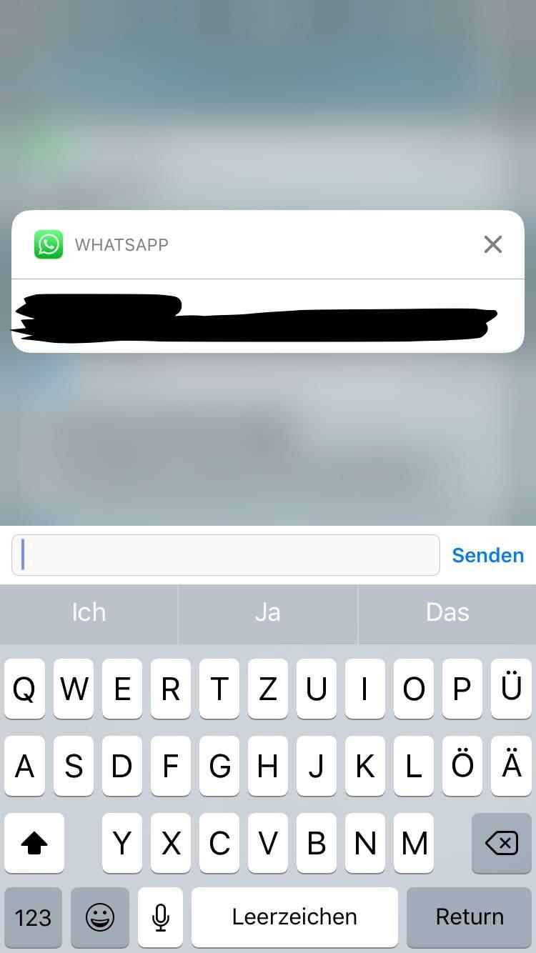 Jemanden per WhatsApp schreiben im Offline Status