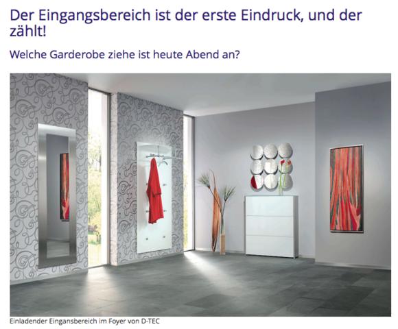 Screenshot Www.makeyourhome.de Wohneinrichtungs Portal   (wohnen, Wohnideen)
