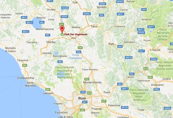 Bomarzo - (Kinder, Reise, Italien)