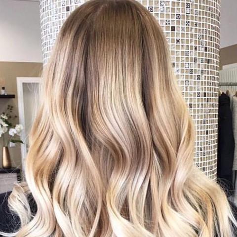 Mittelblonde haare ombre blond - Ombre hair blond selber machen ...