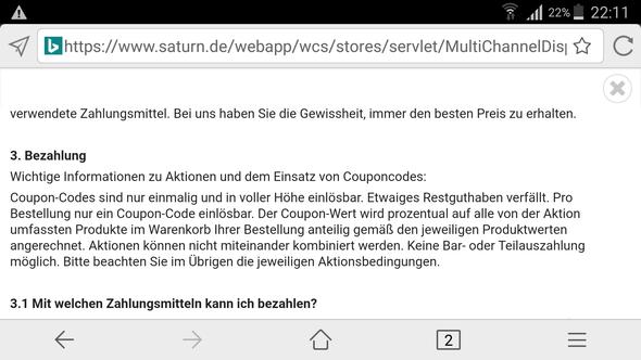 - (online, Gutschein, Saturn)