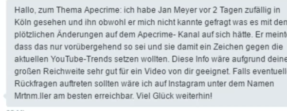 Was Ist Los Bei Apecrime Youtube