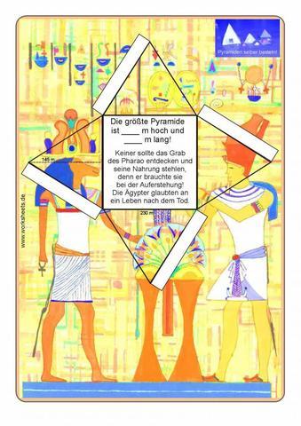 suche basteltipps zum alten aegypten kinder basteln