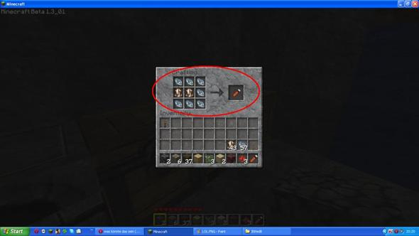 Crafting(mit Misa textur mod) - (Minecraft)