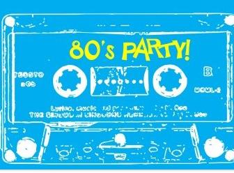 Dekoration Für 80er Jahre Party Mottoparty