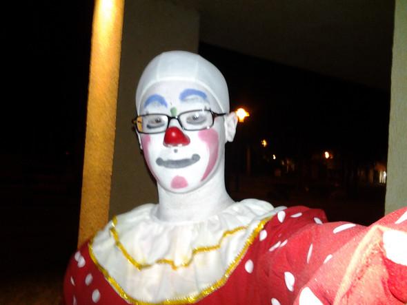 Clownselfie - (Recht, Strafe, Clown)