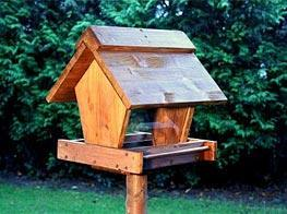 Das Entergebniss des Vogelhauses - (Tiere, Vögel, vogelhaeuschen)