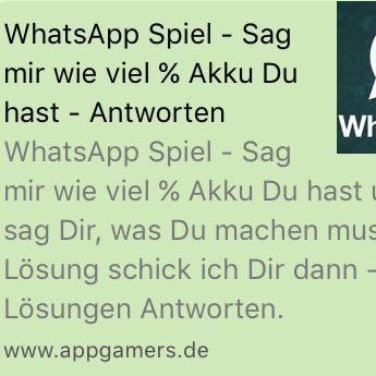 WhatsApp Spiele - (Liebe, Beziehung, Jungs)